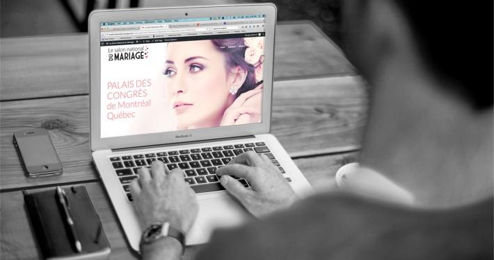 Le Salon National du Mariage renseignement image ordinateur